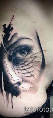 фото тату лицо (portrait tattoo) (значение) – пример рисунка – 018 tatufoto.com