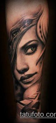 фото тату лицо (portrait tattoo) (значение) – пример рисунка – 019 tatufoto.com