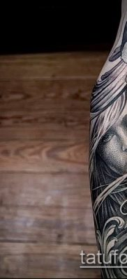 фото тату лицо (portrait tattoo) (значение) – пример рисунка – 021 tatufoto.com