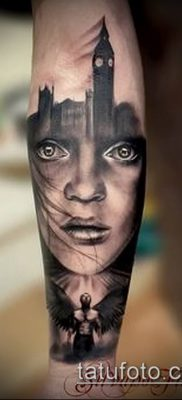 фото тату лицо (portrait tattoo) (значение) – пример рисунка – 025 tatufoto.com