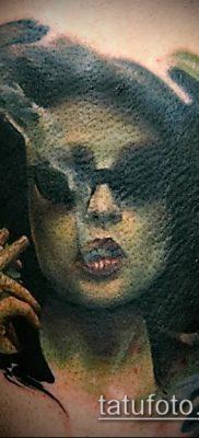 фото тату лицо (portrait tattoo) (значение) – пример рисунка – 028 tatufoto.com