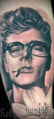 фото тату лицо (portrait tattoo) (значение) – пример рисунка – 032 tatufoto.com