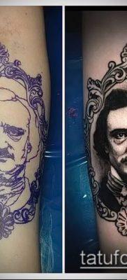 фото тату лицо (portrait tattoo) (значение) – пример рисунка – 037 tatufoto.com