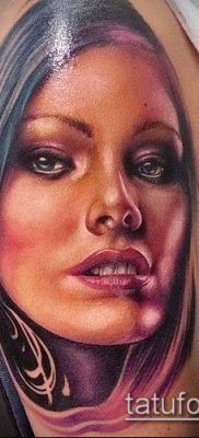 фото тату лицо (portrait tattoo) (значение) – пример рисунка – 039 tatufoto.com