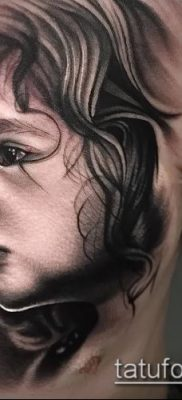 фото тату лицо (portrait tattoo) (значение) – пример рисунка – 044 tatufoto.com