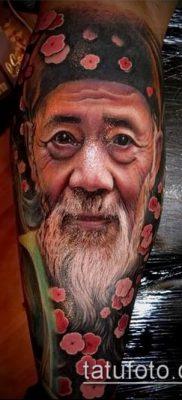 фото тату лицо (portrait tattoo) (значение) – пример рисунка – 056 tatufoto.com