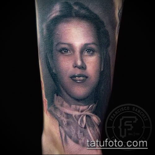 фото тату лицо (portrait tattoo) (значение) - пример рисунка - 063 tatufoto.com