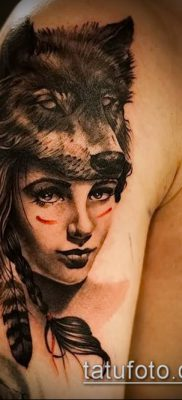 фото тату лицо (portrait tattoo) (значение) – пример рисунка – 066 tatufoto.com
