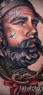 фото тату лицо (portrait tattoo) (значение) – пример рисунка – 067 tatufoto.com