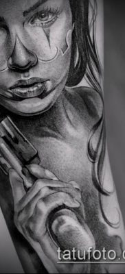 фото тату лицо (portrait tattoo) (значение) – пример рисунка – 068 tatufoto.com