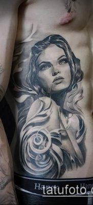 фото тату лицо (portrait tattoo) (значение) – пример рисунка – 071 tatufoto.com