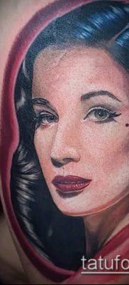 фото тату лицо (portrait tattoo) (значение) – пример рисунка – 073 tatufoto.com