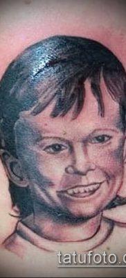 фото тату лицо (portrait tattoo) (значение) – пример рисунка – 074 tatufoto.com
