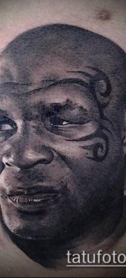 фото тату лицо (portrait tattoo) (значение) – пример рисунка – 080 tatufoto.com