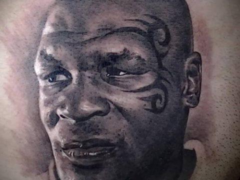 фото тату лицо (portrait tattoo) (значение) - пример рисунка - 080 tatufoto.com