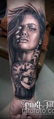 фото тату лицо (portrait tattoo) (значение) – пример рисунка – 081 tatufoto.com