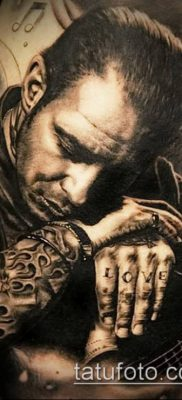 фото тату лицо (portrait tattoo) (значение) – пример рисунка – 087 tatufoto.com