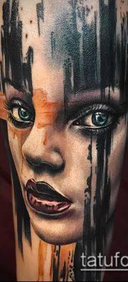 фото тату лицо (portrait tattoo) (значение) – пример рисунка – 089 tatufoto.com