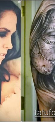 фото тату лицо (portrait tattoo) (значение) – пример рисунка – 092 tatufoto.com