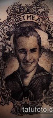 фото тату лицо (portrait tattoo) (значение) – пример рисунка – 095 tatufoto.com