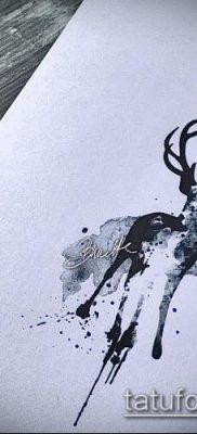 фото тату лось (значение) – пример интересного рисунка тату – 001 tatufoto.com