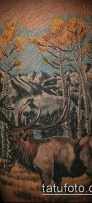 фото тату лось (значение) – пример интересного рисунка тату – 012 tatufoto.com