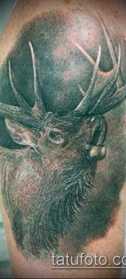 фото тату лось (значение) – пример интересного рисунка тату – 016 tatufoto.com