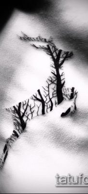 фото тату лось (значение) – пример интересного рисунка тату – 022 tatufoto.com