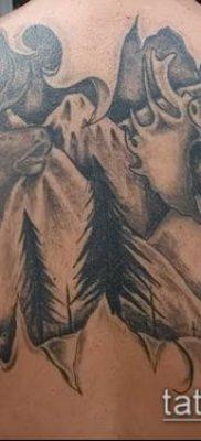 фото тату лось (значение) – пример интересного рисунка тату – 025 tatufoto.com