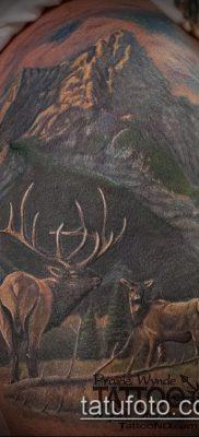 фото тату лось (значение) – пример интересного рисунка тату – 029 tatufoto.com