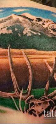 фото тату лось (значение) – пример интересного рисунка тату – 046 tatufoto.com