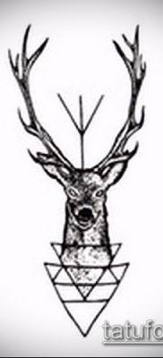 фото тату лось (значение) – пример интересного рисунка тату – 059 tatufoto.com