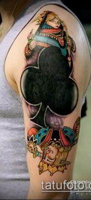 фото тату масти карт (tattoo card suit) (значение) – пример рисунка – 007 tatufoto.com