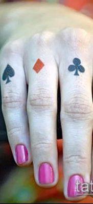фото тату масти карт (tattoo card suit) (значение) – пример рисунка – 010 tatufoto.com