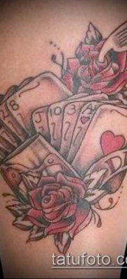 фото тату масти карт (tattoo card suit) (значение) – пример рисунка – 014 tatufoto.com