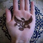 фото тату мехенди на ладони (mehendi on) (значение) - пример рисунка - 052 tatufoto.com