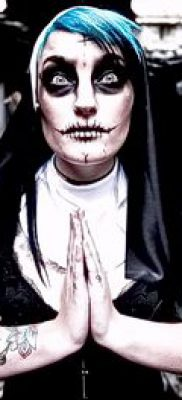 фото тату монашка (значение) – пример интересного рисунка тату – 016 tatufoto.com