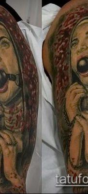 фото тату монашка (значение) – пример интересного рисунка тату – 017 tatufoto.com