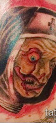 фото тату монашка (значение) – пример интересного рисунка тату – 048 tatufoto.com