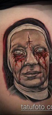 фото тату монашка (значение) – пример интересного рисунка тату – 054 tatufoto.com