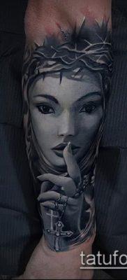 фото тату монашка (значение) – пример интересного рисунка тату – 090 tatufoto.com