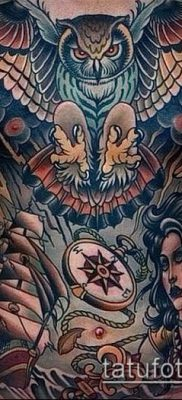 фото тату на груди (значение) – пример интересного рисунка тату – 026 tatufoto.com