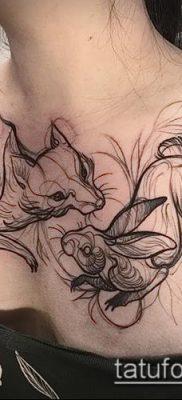 фото тату на груди (значение) – пример интересного рисунка тату – 031 tatufoto.com