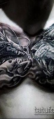фото тату на груди (значение) – пример интересного рисунка тату – 099 tatufoto.com