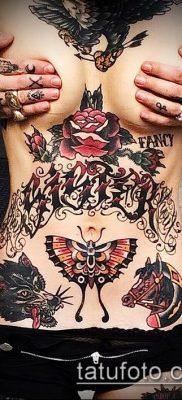 фото тату на животе (tattoo on her stomach) (значение) – пример рисунка – 010 tatufoto.com