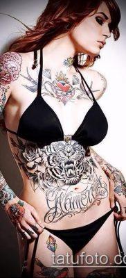 фото тату на животе (tattoo on her stomach) (значение) – пример рисунка – 031 tatufoto.com