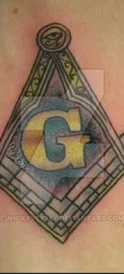 фото тату на ляжке (tattoo Masons) (значение) – пример рисунка – 012 tatufoto.com