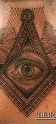 фото тату на ляжке (tattoo Masons) (значение) – пример рисунка – 018 tatufoto.com