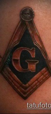 фото тату на ляжке (tattoo Masons) (значение) – пример рисунка – 019 tatufoto.com