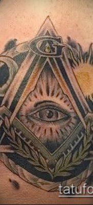 фото тату на ляжке (tattoo Masons) (значение) – пример рисунка – 021 tatufoto.com